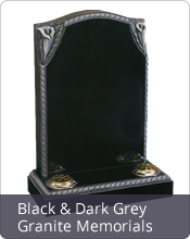 Black Granite Gravestones