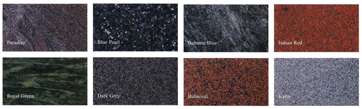 Coloured Granites