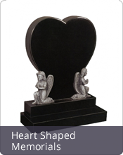 Heart Shaped Memorials