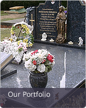Portfolio of Headstones and Memorials